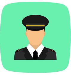 lieutenant icon vector image