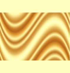 Luxury golden silk fabric for background abstract vector
