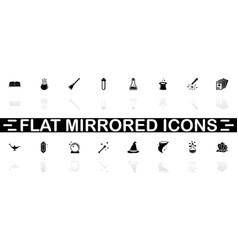 Magic - flat icons vector