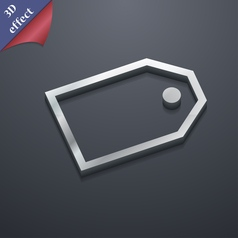 Web stickers icon symbol 3d style trendy modern vector