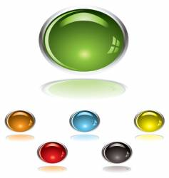 lozenge gel button vector image
