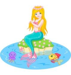 mermaid vector image