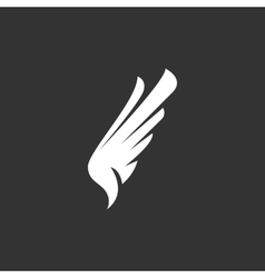 Wing Icon logo element for template vector image vector image