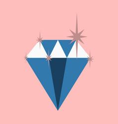 flat icon on theme arabic business precious stone vector image