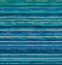 Melange knitted seamless pattern vector image vector image