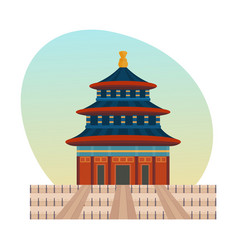 palace complex chinese emperors is imperial palace vector image