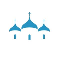 Russia orthodox church christianity vector