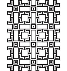 Squares and bricks abstract seamless pattern vector image