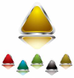 triangle gel vector image
