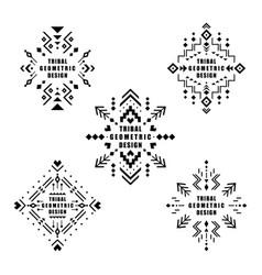 aztec elements vector image
