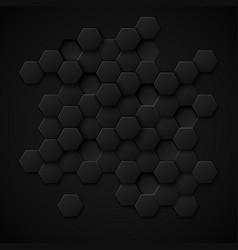 Carbon technology abstract background vector