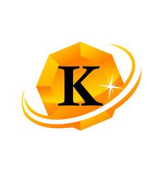 Diamond swoosh initial k vector
