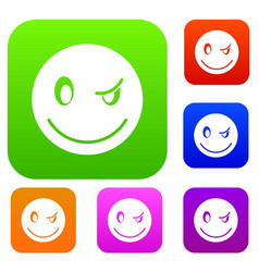 Eyewink emotset collection vector