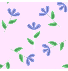 Gentle floral seamless pattern vector