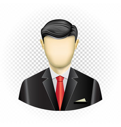 Human template businessman vector