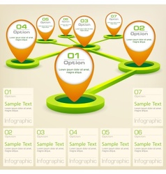 Infographic elements with vector image