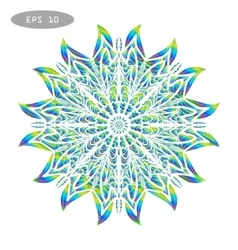 Mandala Coloring 4 vector