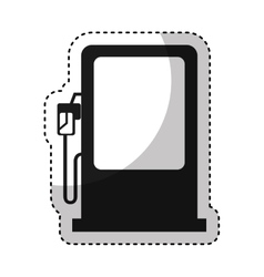 station service fuel icon vector image