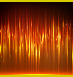Abstract random glowing lines vector