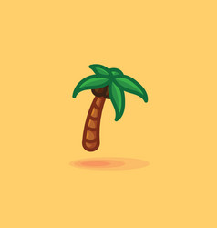 palm isolated icon of a palm vector image vector image