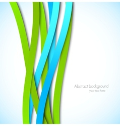 Abstract colorful background with lines vector image vector image