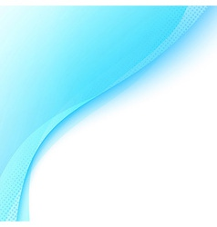 Modern abstract blue folder banner template vector image vector image