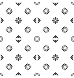 Crosshair viewfinder pattern simple style vector