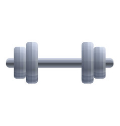 heavy dumbell icon cartoon style vector image