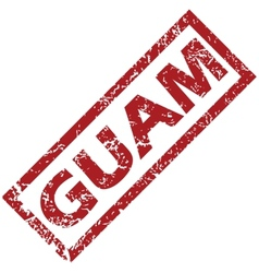 New Guam rubber stamp vector