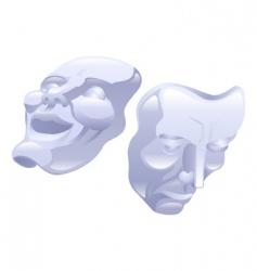 Trical masks vector