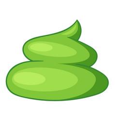 Wasabi icon cartoon style vector