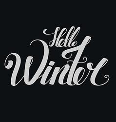 winter03 vector image