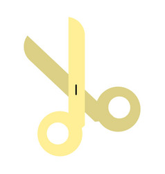 open scissors icon image vector image vector image