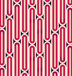 retro red stripes seamless texture vector image