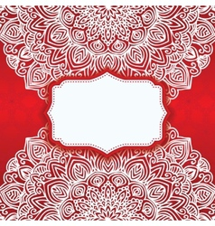 Abstract background ornamental vector image