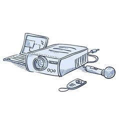 Presentation Projector vector image
