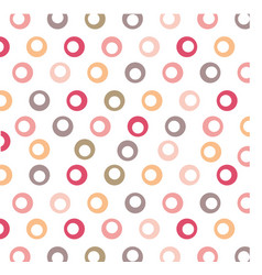 Color background with circles vector