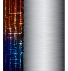 Abstract banner vector