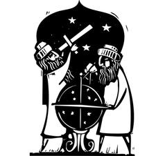 Astrologers vector