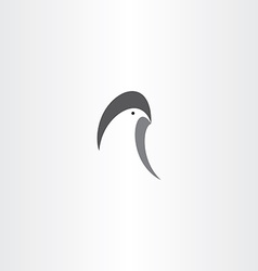 eagle logo symbol icon sign vector image