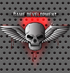 Game development logo template vector