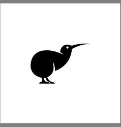 Kiwi bird logo icon design vector
