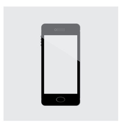 Mobile Phone Black isolated vector image