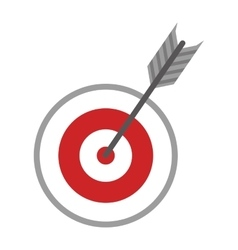 Target icon game design graphic vector image