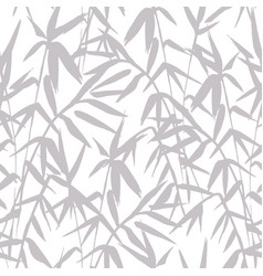 bamboo grey seamless japanese pattern on white vector image vector image