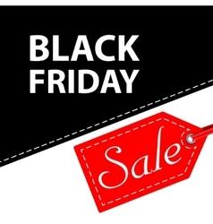 Banner Black Friday sales vector image