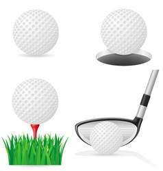 golf 05 vector image vector image