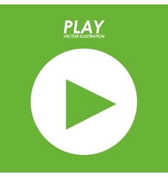 video play vector image