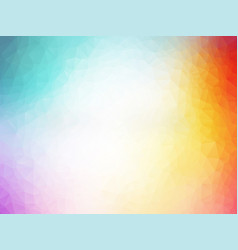abstract colorful polygonal pattern vector image