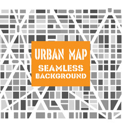 Background city map pattern repeating seamless vector
